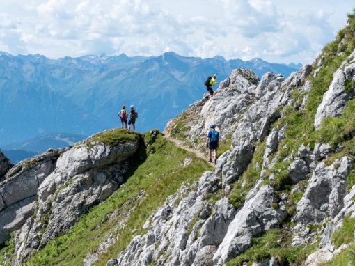 August 2020   Mittenwalder Klettersteig